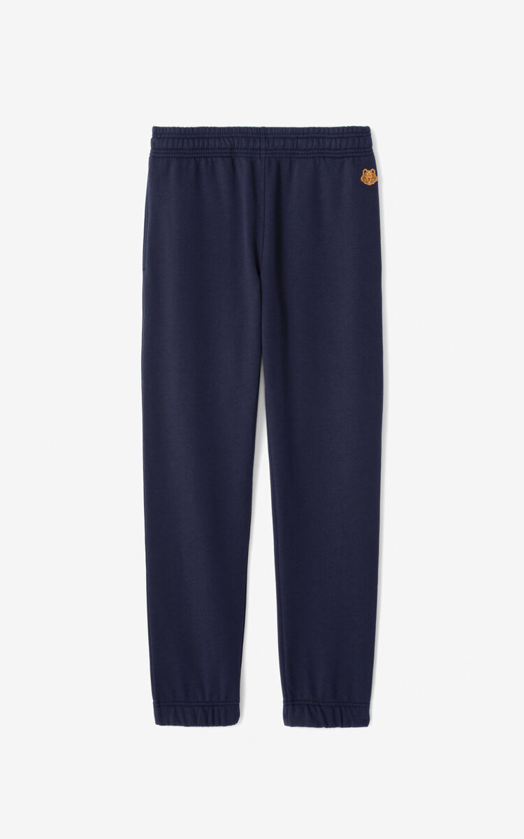 NAVY BLUE Tiger Crest jogging trousers  for women KENZO