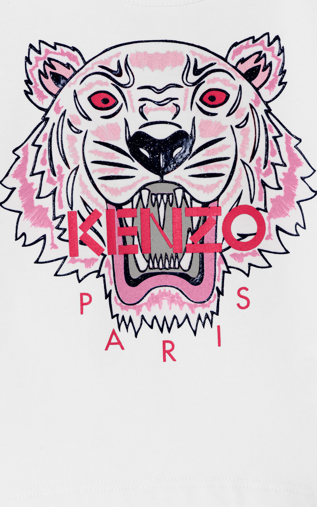 ECRU Tiger Long T-shirt for men KENZO