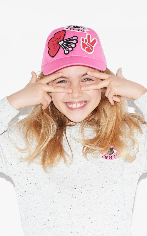 ROSE Tanami x Badges Cap  for women KENZO