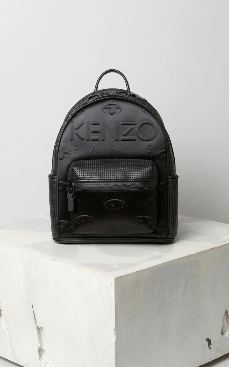BLACK KENZO Kombo backpack for women