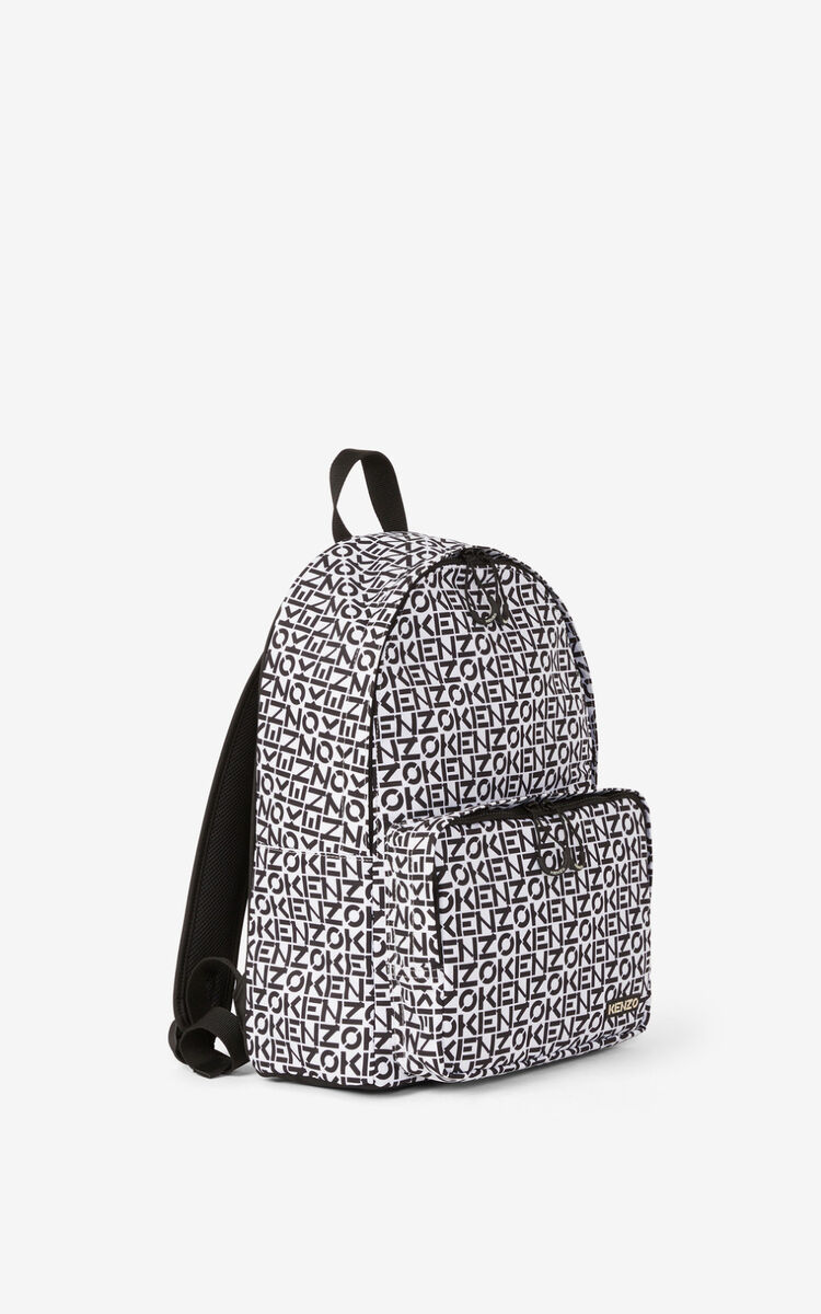 OFF WHITE KENZO Repeat backpack for women