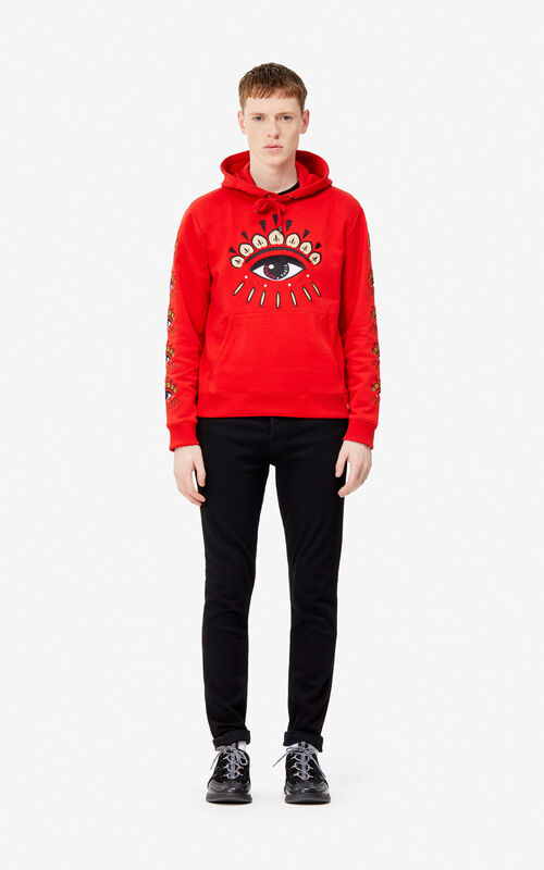 524f94816b6 ... VERMILLION Multi Eye hoodie for men KENZO
