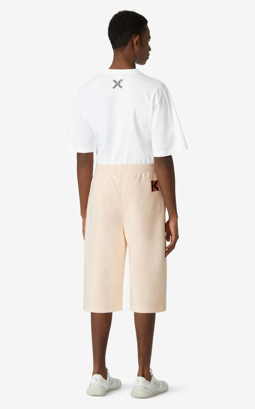 BLUSH Oversized KENZO Sport 'Little X' shorts for men