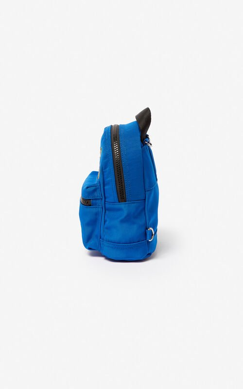 COBALT Mini Tiger Canvas backpack for unisex KENZO