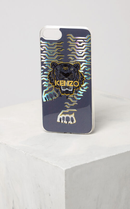 GOLD Geo Tiger iPhone 7 case for unisex KENZO