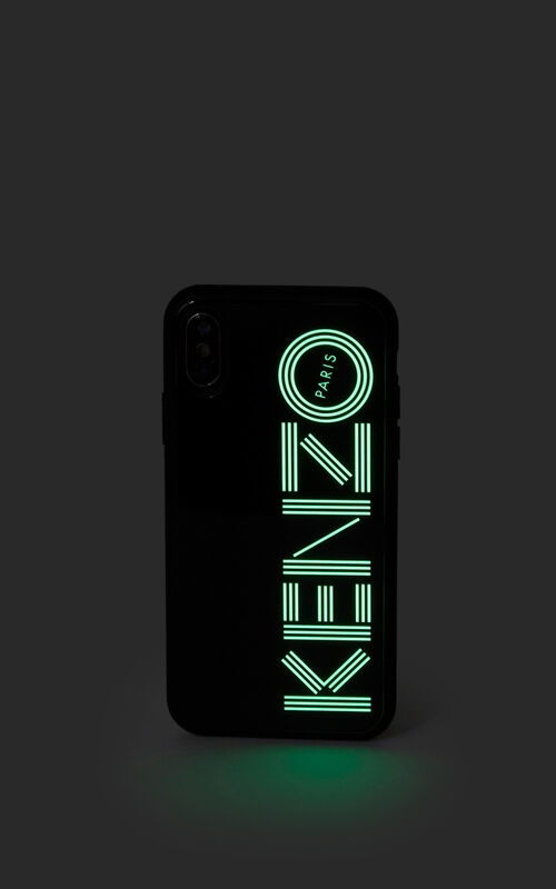 BLACK iPhone X/XS Case Fluorescent for women KENZO