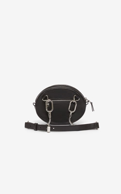 BLACK Kontact Eye bumbag for unisex KENZO