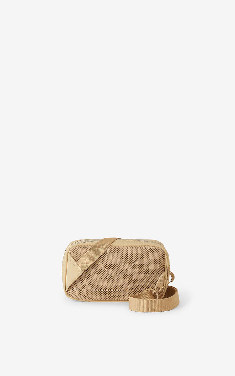 BEIGE Tiger Crest shoulder bag for women KENZO