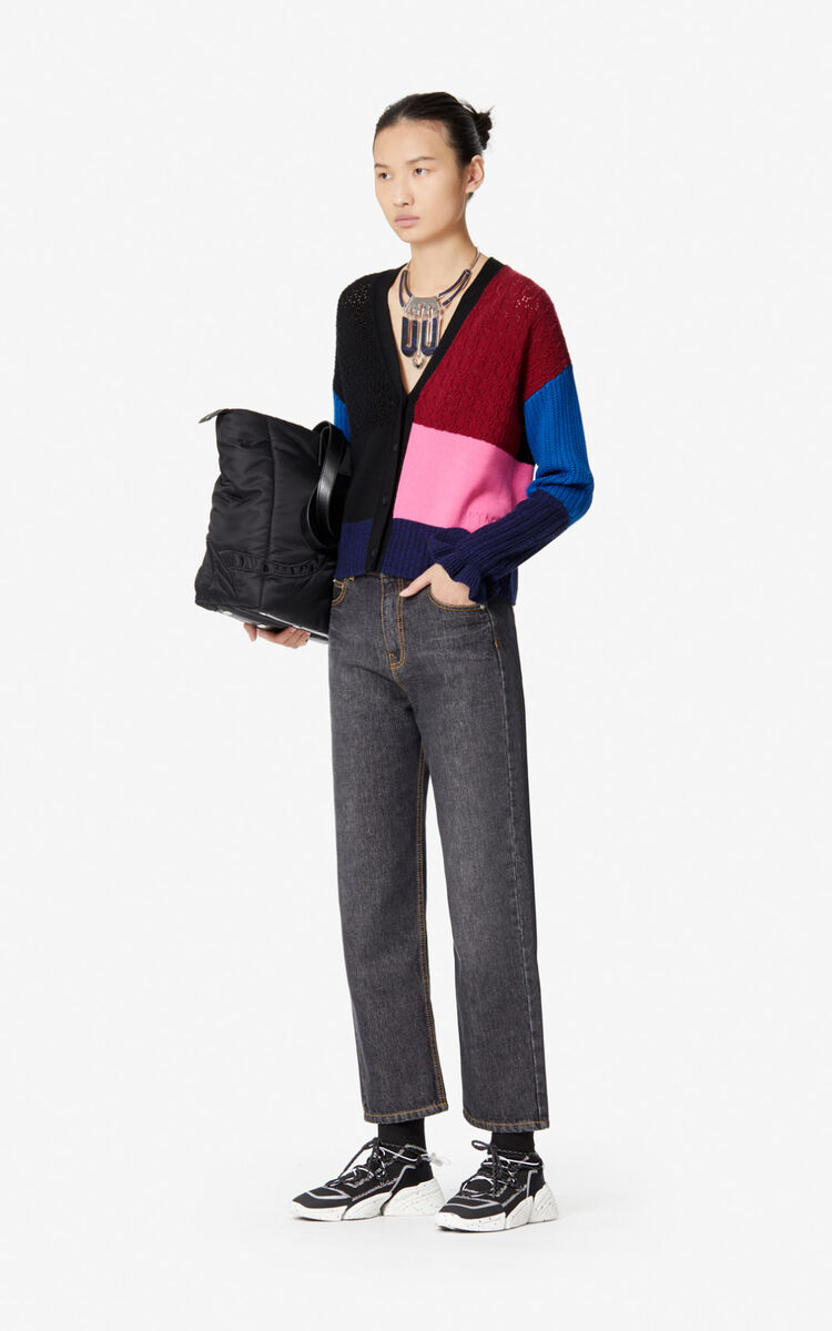 BORDEAUX Wool and cashmere cardigan   for women KENZO