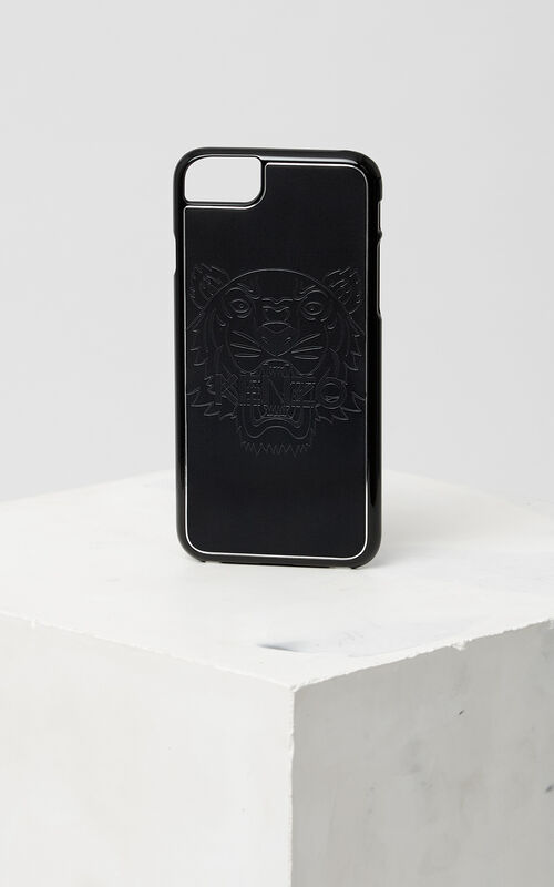 Tiger iPhone 7 case, BLACK, KENZO