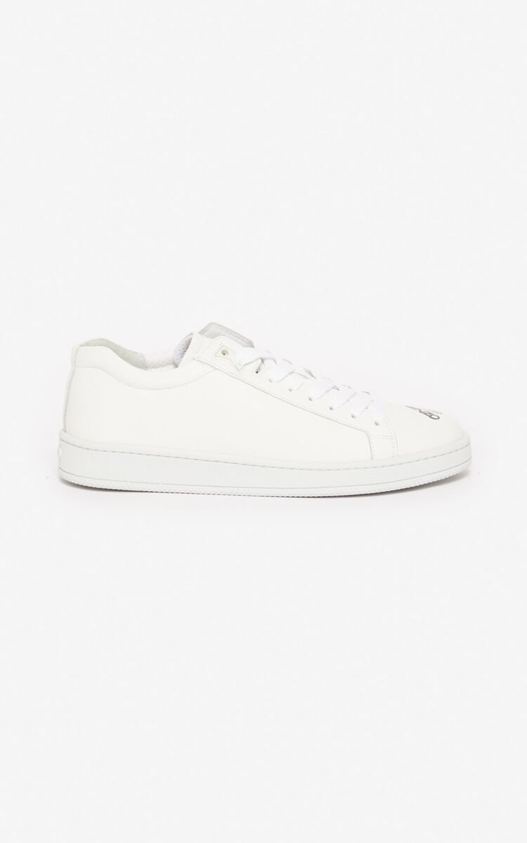 WHITE 'Kung Fu Rat' Tennix trainers for men KENZO