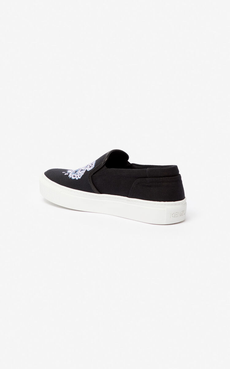 BLACK Slips-on K-Skate Tiger für unisex KENZO