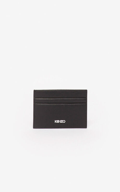 BLACK Kandy card holder for unisex KENZO