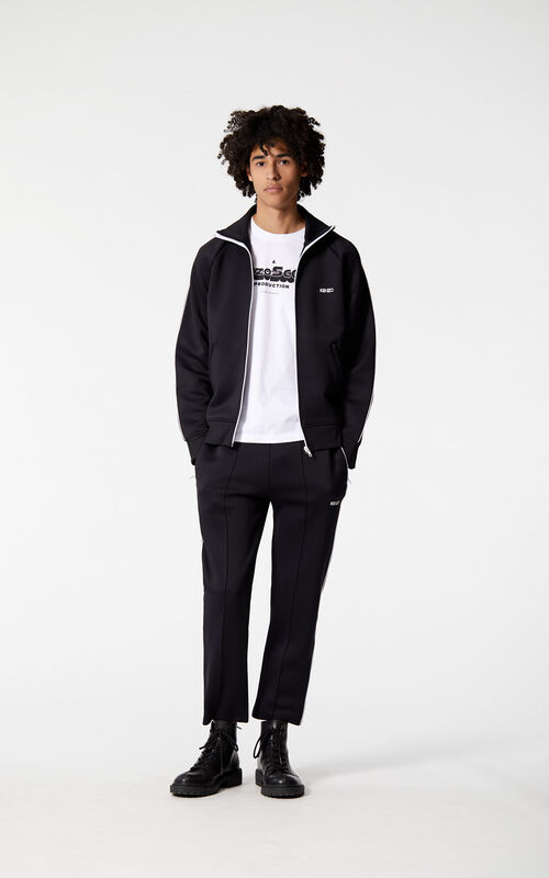 BLACK KENZO joggers for men