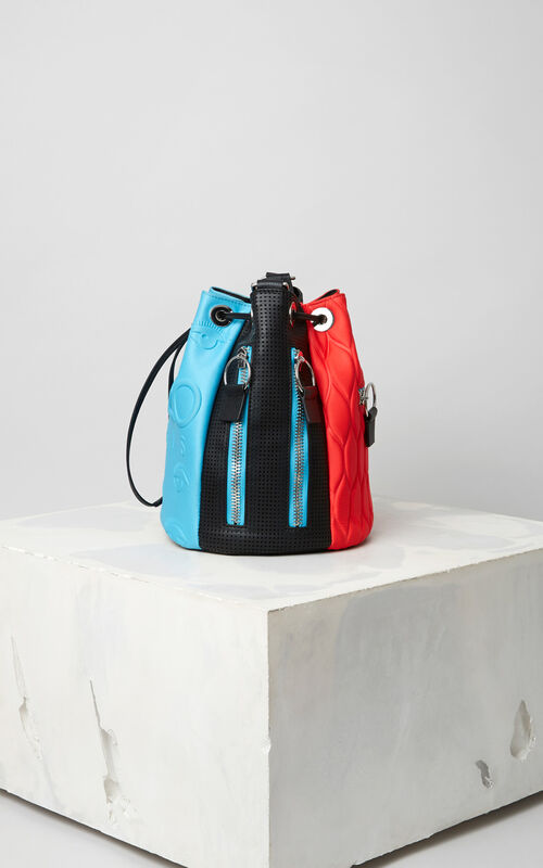TURQUOISE KENZO Kombo bucket bag for unisex
