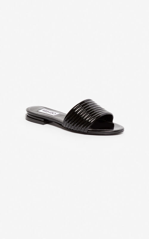 BLACK Ana mules for women KENZO