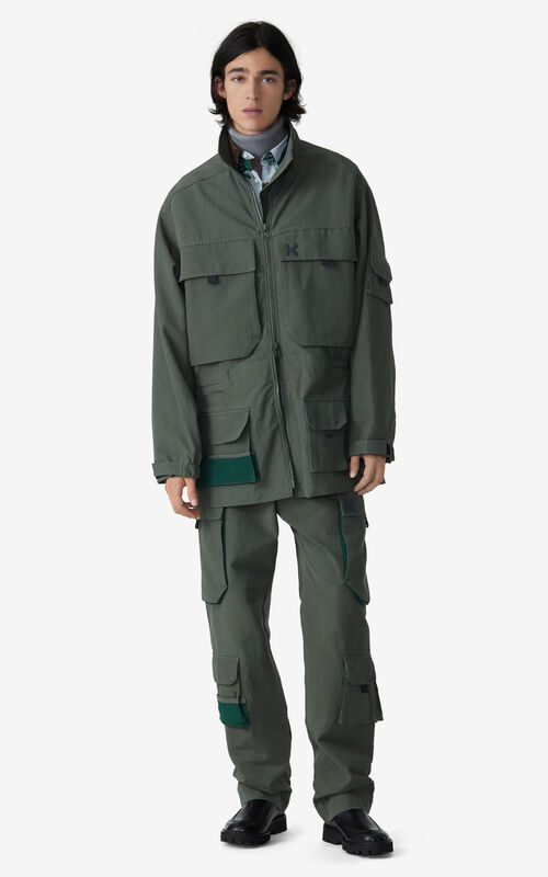 FERN Oversized parka for men KENZO