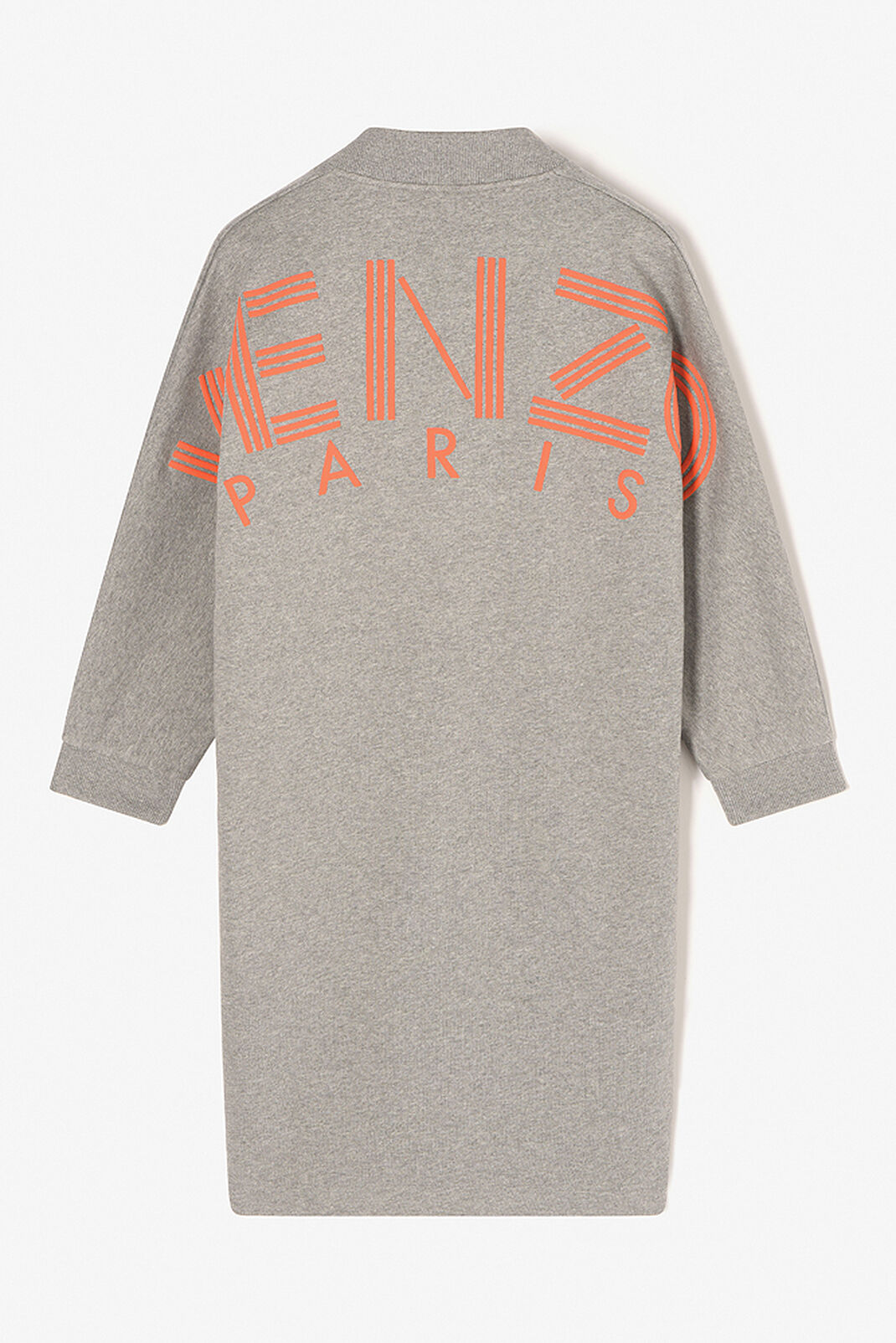 DOVE GREY KENZO Logo Dress for women