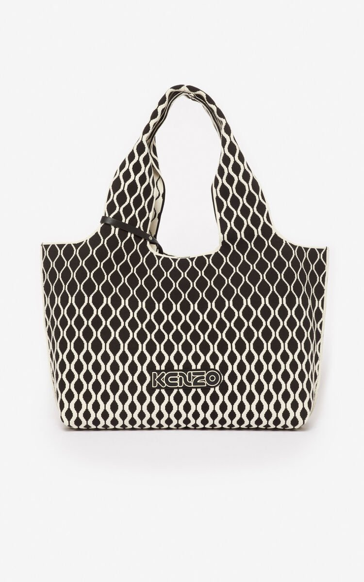 BLACK Skuba tote bag for unisex KENZO