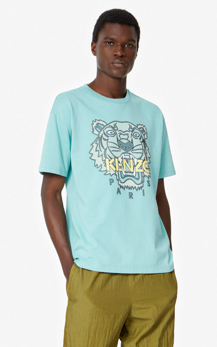 AQUA Tiger t-shirt   for men KENZO