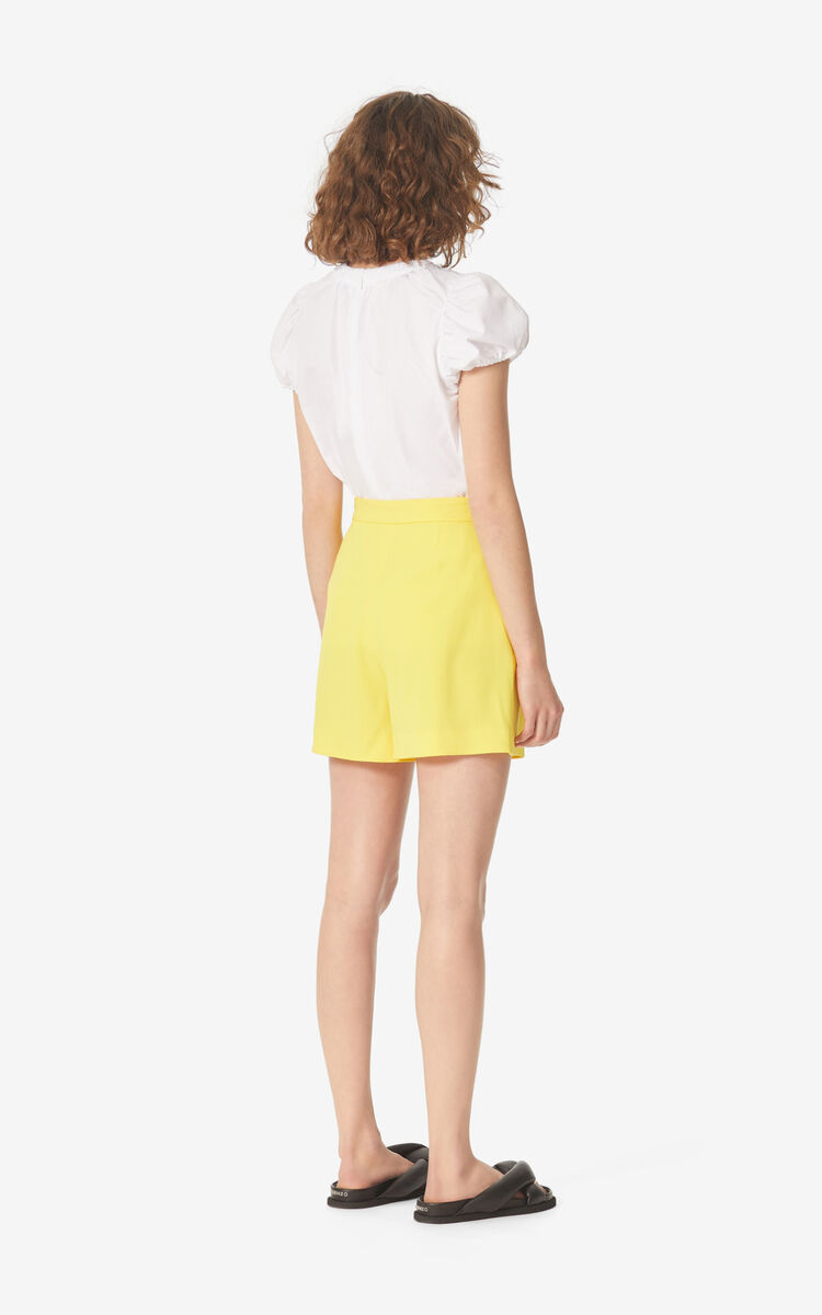 LEMON Pleated shorts for women KENZO