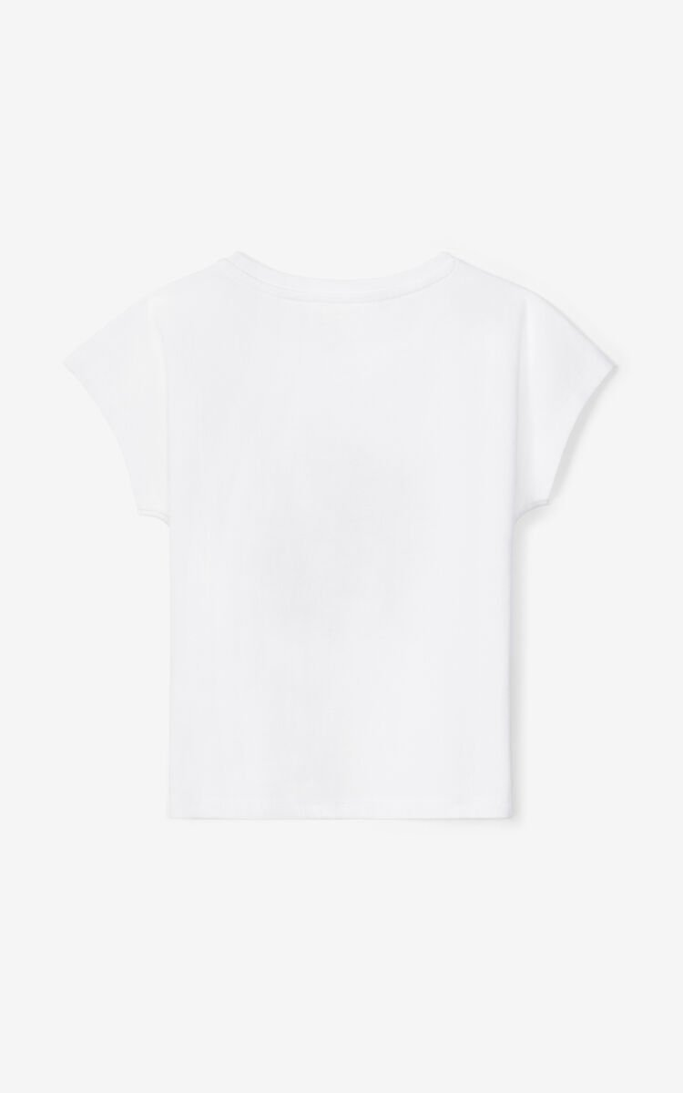 OFF WHITE 'Jumping Tiger' loose t-shirt for women KENZO