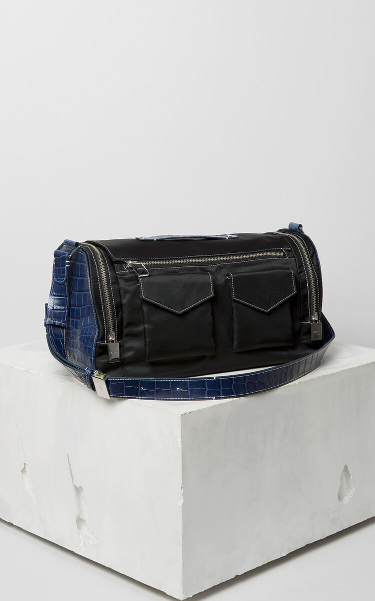 BLACK Duffle bag for men KENZO