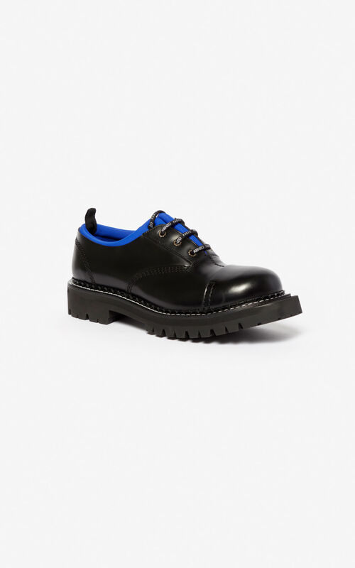 ELECTRIC BLUE Kamden brogue for unisex KENZO