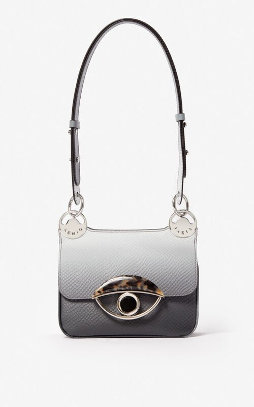 MISTY GREY Mini TALI crossbody bag for unisex KENZO