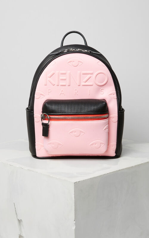 FLAMINGO PINK Kombo backpack for unisex KENZO