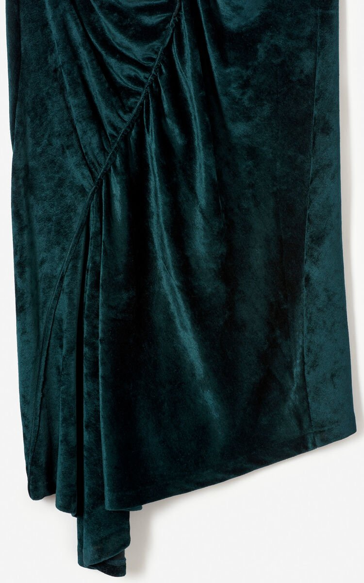 PINE Draped velvet dress for women KENZO