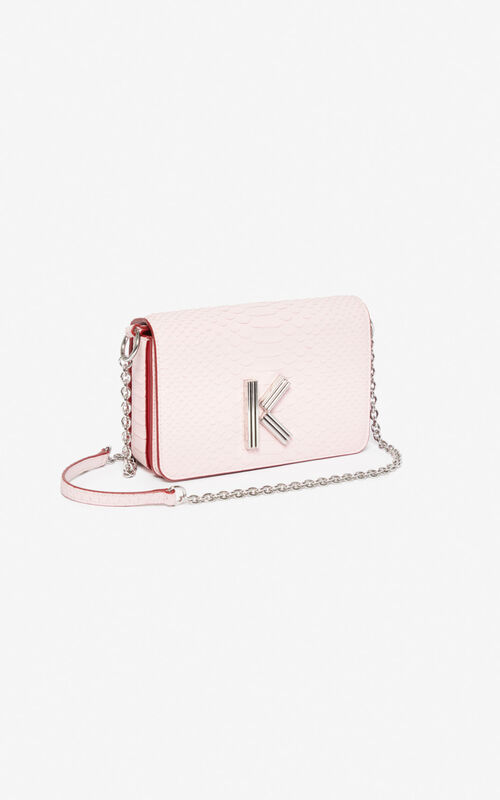 PASTEL PINK K-Bag Chainy bag for unisex KENZO