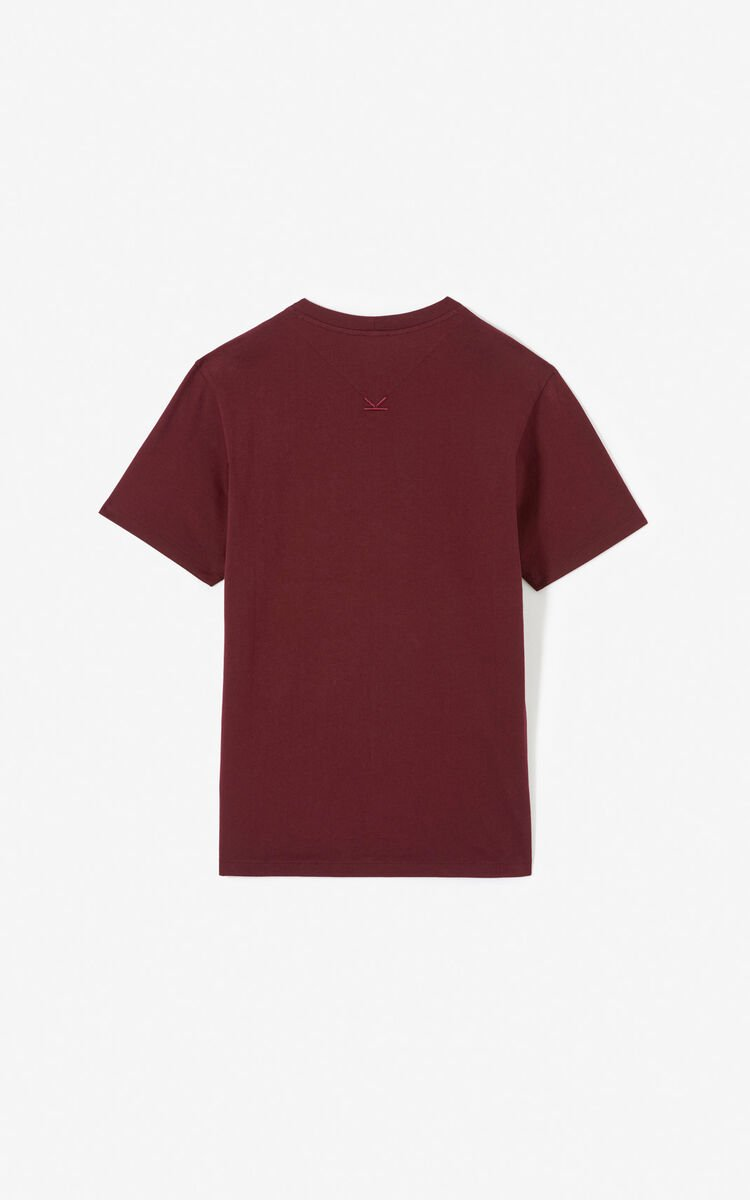 BORDEAUX 'Painted landscape' T-shirt for men KENZO