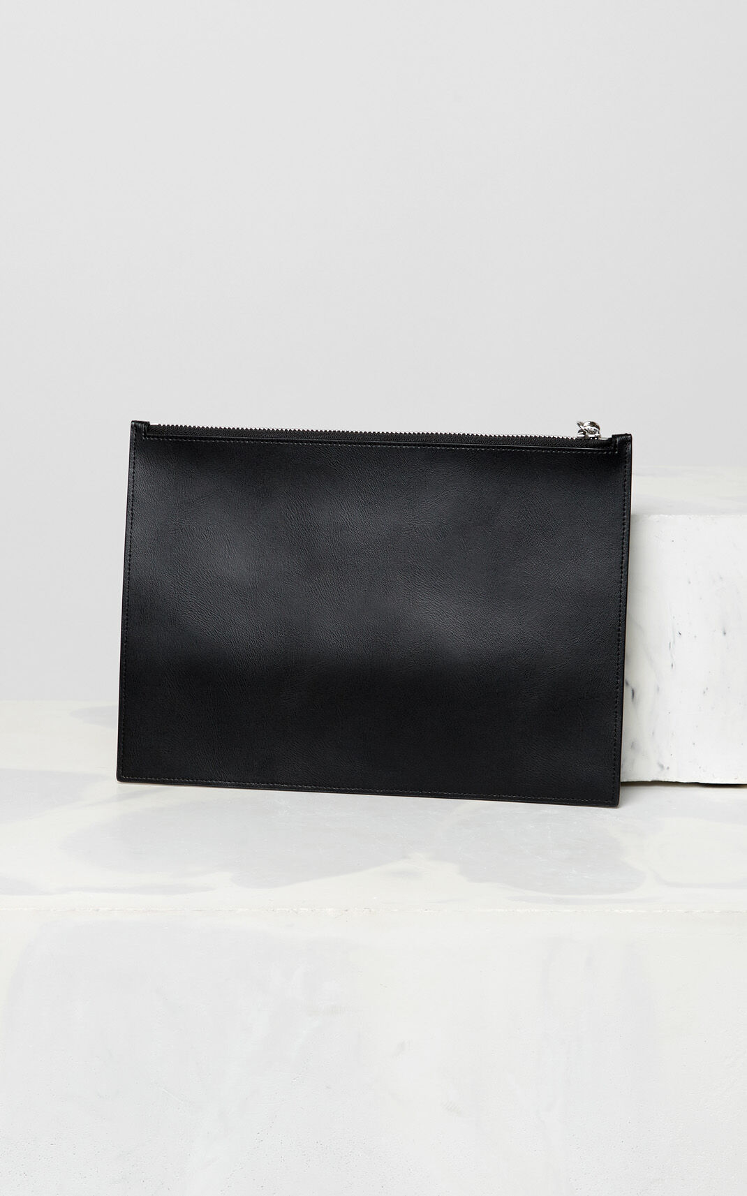 BLACK KENZO colourblock clutch for men