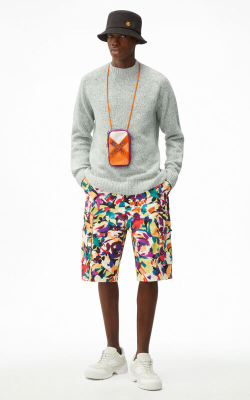 OFF WHITE Recycled cashmere K jumper for men KENZO