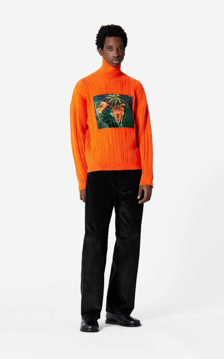 PINE Straight-cut corduroy trousers for women KENZO