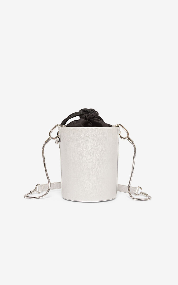 SILVER Kontact Eye mini hobo bag for unisex KENZO
