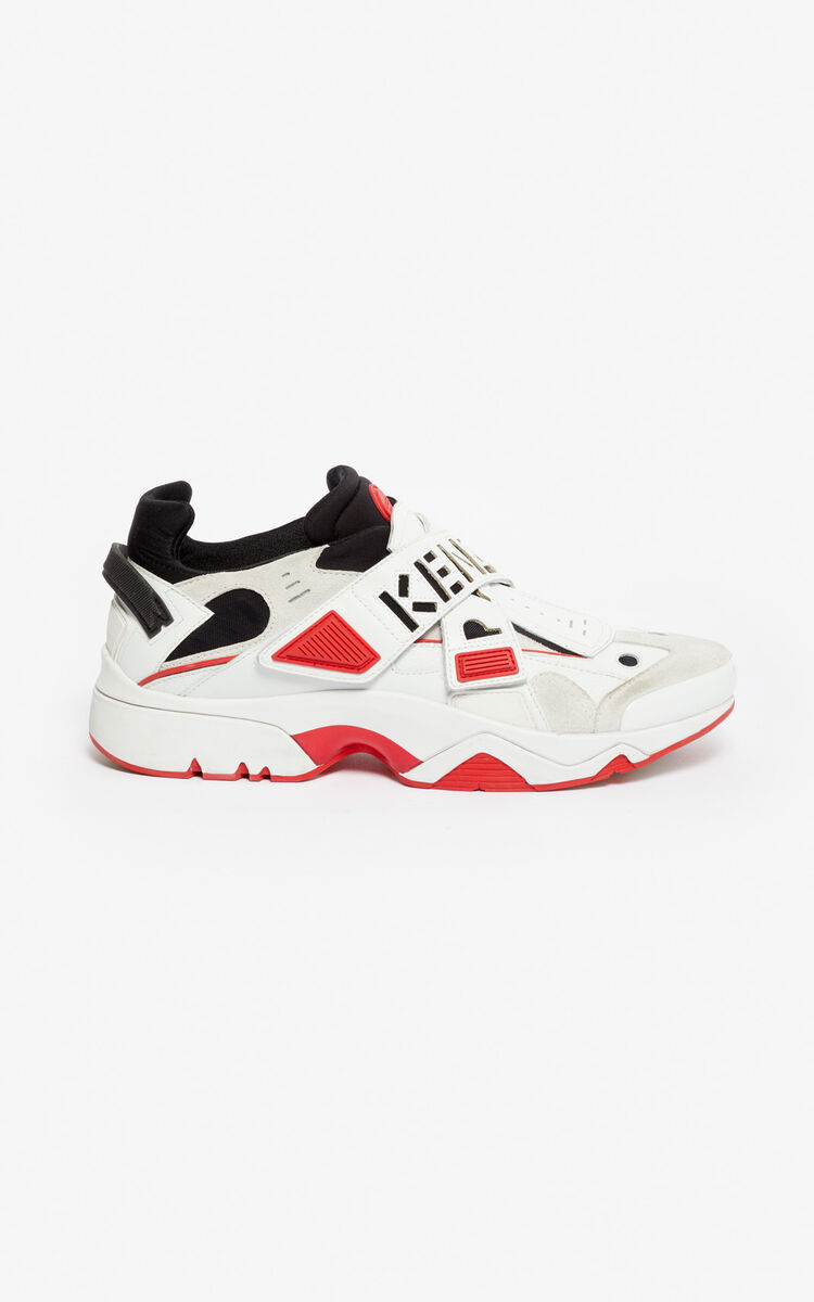 MEDIUM RED Sonic Velcro sneakers for women KENZO