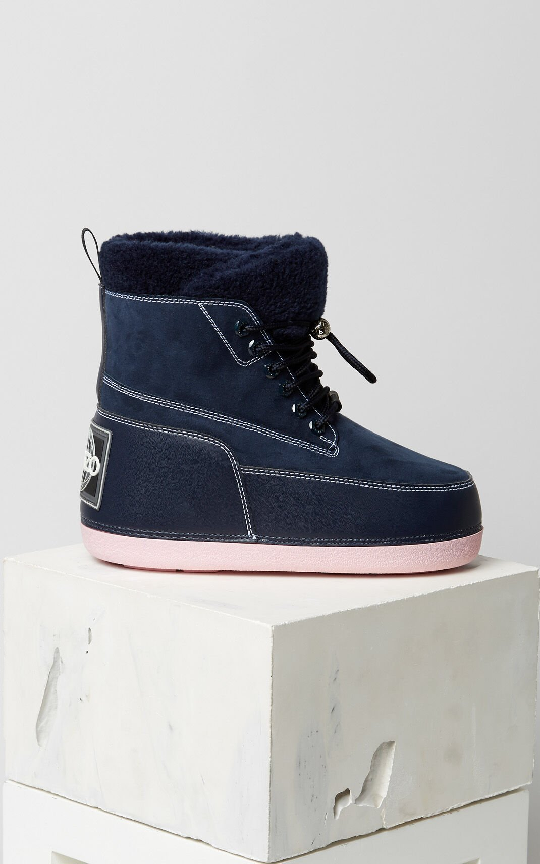 NAVY BLUE Nebraska Boots for women KENZO