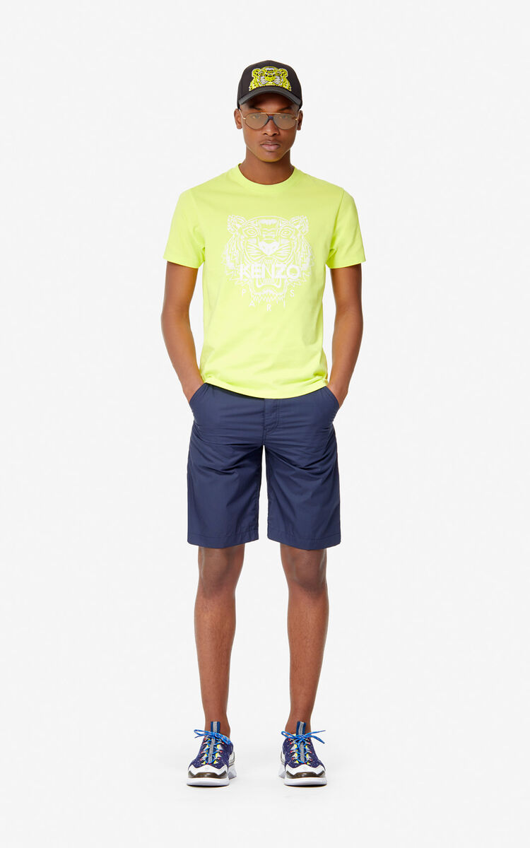 LEMON Tiger T-shirt for men KENZO