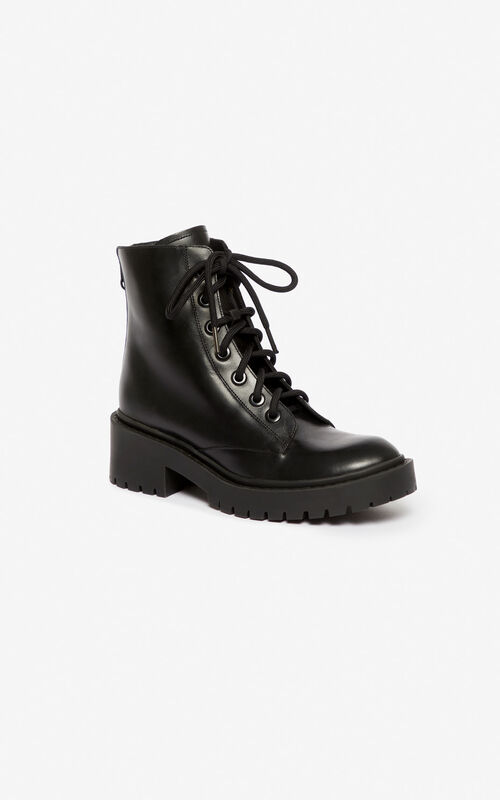 BLACK Pike boot for unisex KENZO