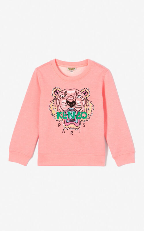 CORAL Tiger sweatshirt for women KENZO