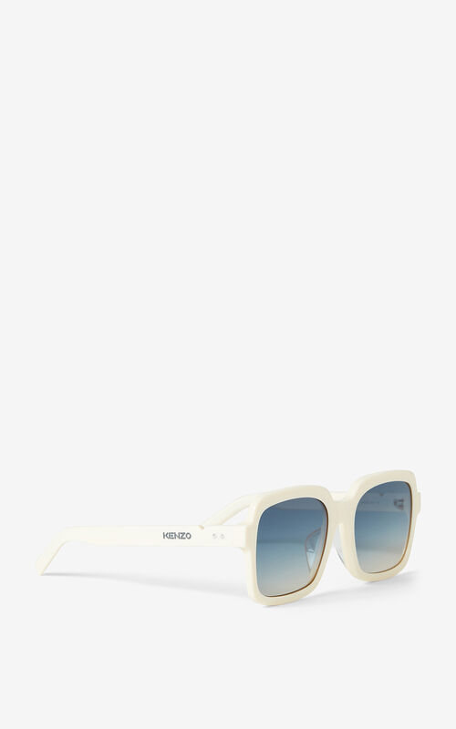 WHITE Sunglasses for unisex KENZO