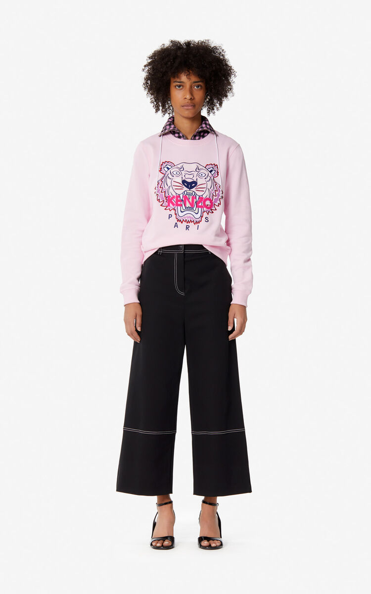 PASTEL PINK Tiger sweatshirt for women KENZO