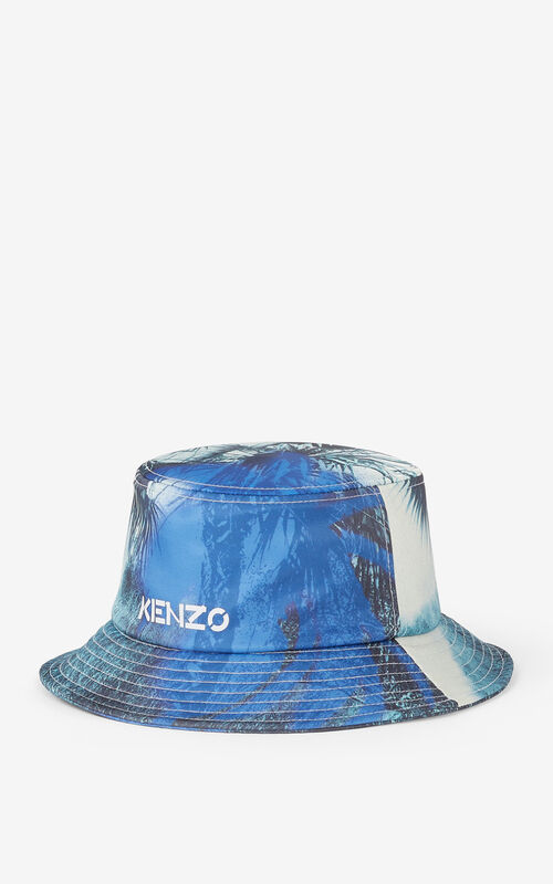 CYAN 'Hawaiian Graffiti' 'High Summer Capsule' sun hat for unisex KENZO