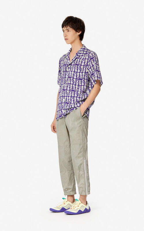 TAUPE Zipped trousers for men KENZO