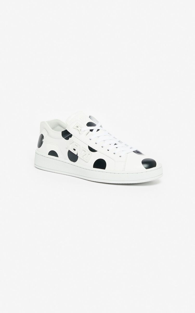 BLACK 'Dots' Tennix sneakers 'High Summer Capsule collection' for women KENZO
