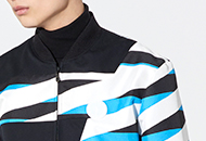 Fun & Sophisticated, the Z Stripes jacket
